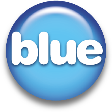 Blue support services logo